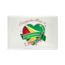 I heart Guyanese Designs Rectangle Magnet