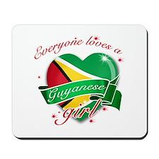 I heart Guyanese Designs Mousepad