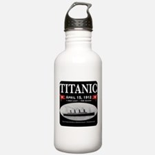 Titanic Ghost Ship (black) Water Bottle