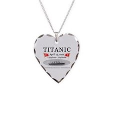 Titanic Ghost Ship (white) Necklace