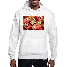 Cute Happy Strawberries Hoodie