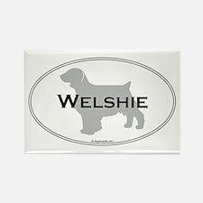 Welshie Rectangle Magnet