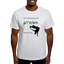 My grandson get down male dancer T-Shirt