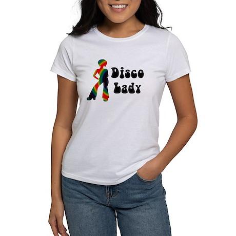 Disco Lady Retro Women's T-Shirt