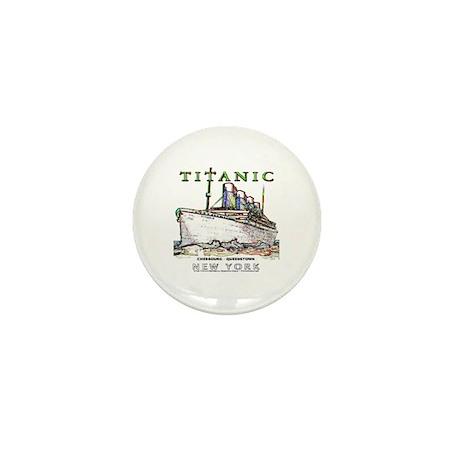 Titanic Neon (white) Mini Button