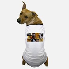 Guitar Photography Collage Dog T-Shirt