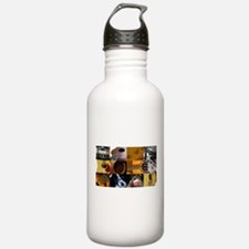 Guitar Photography Collage Water Bottle