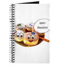 Happy Hanukkah Donuts Journal