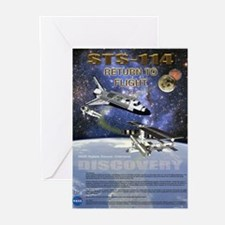 STS 114 Mission Poster Greeting Cards (Pk of 10)
