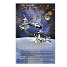 STS 114 Mission Poster Postcards (Package of 8)