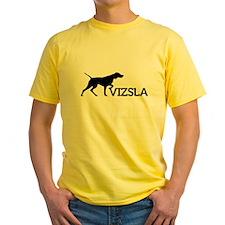 Men's Vizsla T (silhouette)
