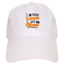 I Wear Orange 37 MS Baseball Cap
