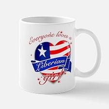 I heart Liberian Designs Mug
