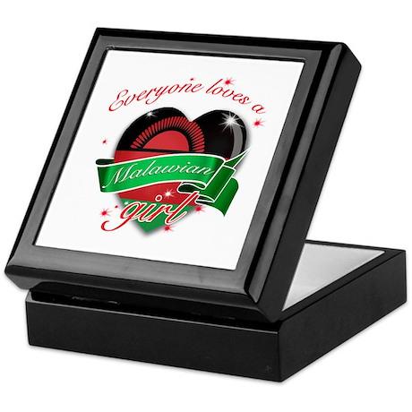I heart Malawian Designs Keepsake Box