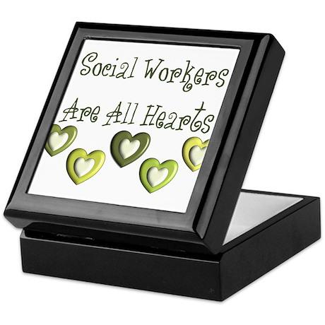 Social Worker Keepsake Box