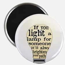 "Inspiring saying - Help Thy N 2.25"" Magnet (10 pac"