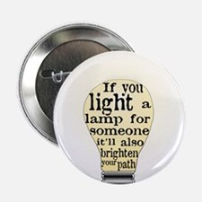 "Inspiring saying - Help Thy N 2.25"" Button (100 pa"