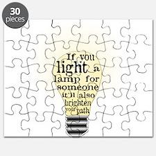 Inspiring saying - Help Thy N Puzzle