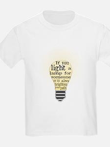 Inspiring saying - Help Thy N T-Shirt