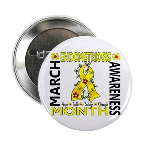 "Endo Awareness Month 2.25"" Button (100 pack)"