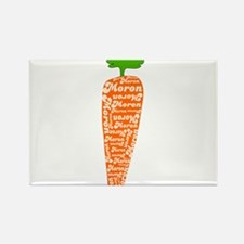 Welsh word for carrot - Moron Rectangle Magnet