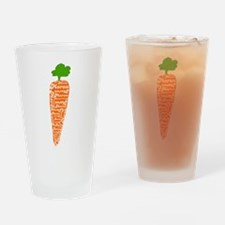 Welsh word for carrot - Moron Drinking Glass
