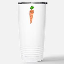 Welsh word for carrot - Moron Travel Mug