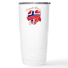 I heart Norwegian Designs Thermos Mug