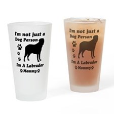 Labrador Mommy Drinking Glass