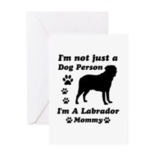 Labrador Mommy Greeting Card