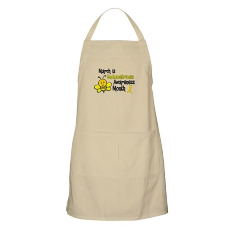 Endo Awareness Month Bee 3 Apron