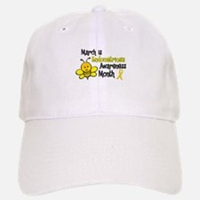 Endo Awareness Month Bee 3 Baseball Baseball Cap
