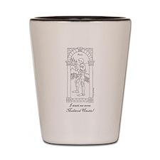 Medieval Hautie! Shot Glass