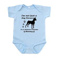 Miniature Pinscher Mommy Infant Bodysuit
