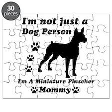Miniature Pinscher Mommy Puzzle