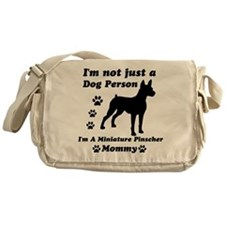Miniature Pinscher Mommy Messenger Bag