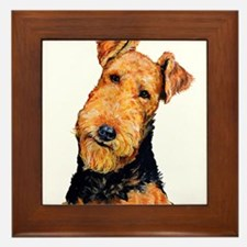 Airedale Terrier Framed Tile
