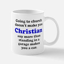 Church Christian Garage Car Small Small Mug