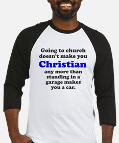 Church Christian Garage Car Baseball Jersey