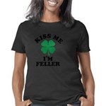Irish Shamrock Women's Plus Size Scoop Neck Dark T