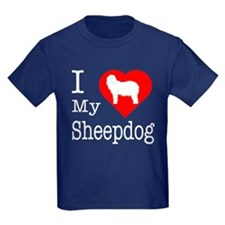 I Love My Bearded Collie T