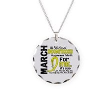 Endo Awareness Month For Me Necklace