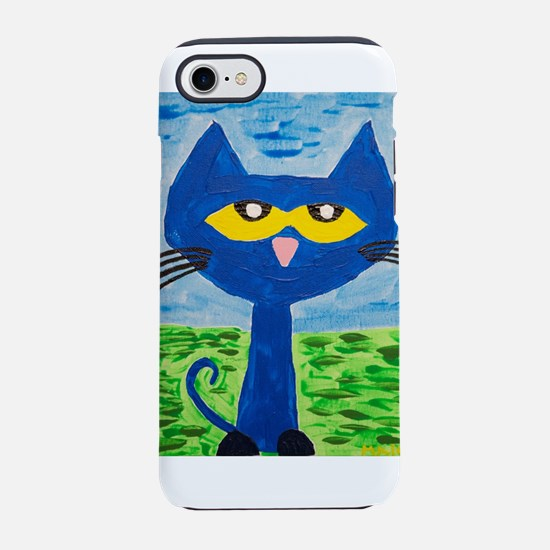 Pete the cat painting iPhone 7 Tough Case
