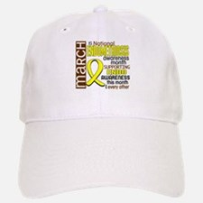 Endo Awareness Month I2 6 Baseball Baseball Cap