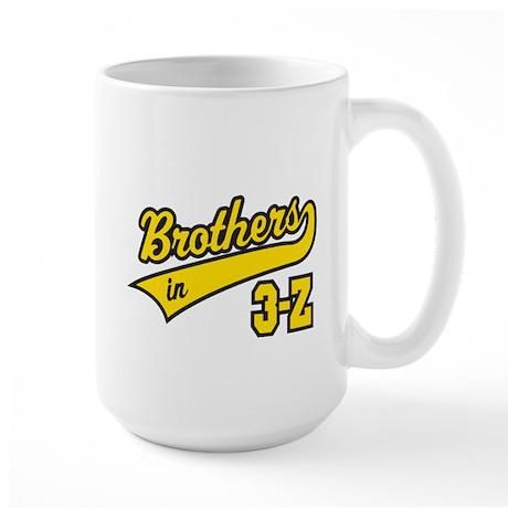 Brothers in 3-Z Large Mug
