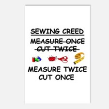 SEWING CREED Postcards (Package of 8)