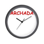 yiddish Wall Clock
