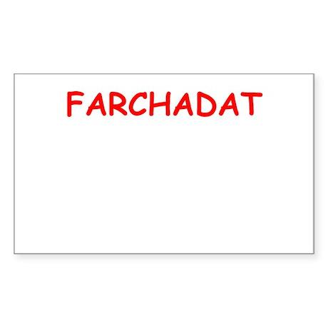 yiddish Sticker (Rectangle)