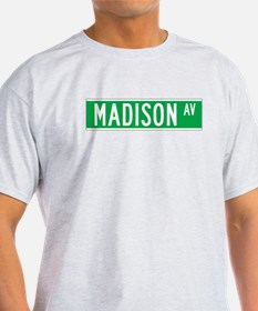 Madison Ave., New York - USA T-Shirt