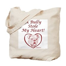 A Bully Stole My Heart Red/Tote Bag